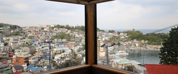 真鶴港を一望するカフェギャラリー